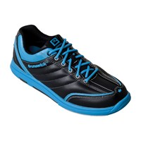 Brunswick Womens Diamond Black/Ice Blue Bowling Shoes