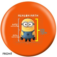 OnTheBallBowling Despicable Me Minions & Math Bowling Balls