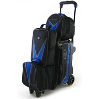 Elite Deluxe 2-3-4 Option Roller Blue/Black Bowling Bags