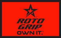 Roto Grip Woven Towel Red/Black