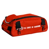 Vise 2 Ball Add-On Shoe Bag-Red Bowling Bags