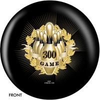 OnTheBallBowling Mini 300 Game Award