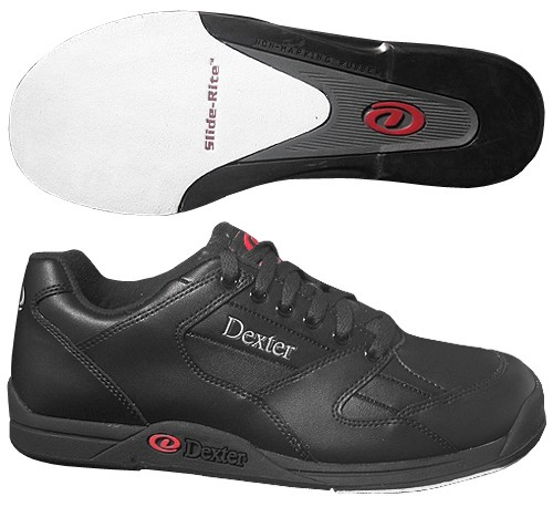The Bowling Gods: Dexter Groove White/Black Womens Wide Width
