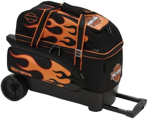 brunswick groovy 2 ball roller harley davidson free shipping. Black Bedroom Furniture Sets. Home Design Ideas