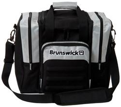 Brunswick Flash Single Tote Black/Silver Main Image
