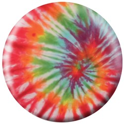 Exclusive Orange Tie-Dye Viz-A-Ball Main Image