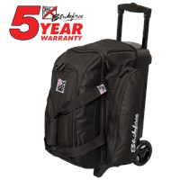 KR Kolors 2 Ball Roller Black Bowling Bags