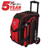 KR Kolors 2 Ball Roller Red Bowling Bags