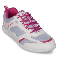 KR Strikeforce Womens Spirit Lite White/Fuchia Bowling Shoes