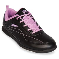 KR Strikeforce Womens Capri Lite Black/Orchid Bowling Shoes