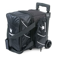 Brunswick Edge Single Roller Black Bowling Bags