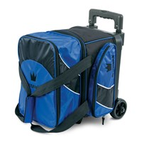 Brunswick Edge Single Roller Blue Bowling Bags