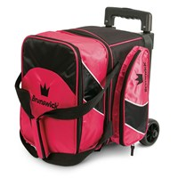 Brunswick Edge Single Roller Pink Bowling Bags