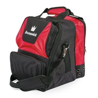 Brunswick Crown Single Tote Red Bowling Bags