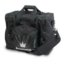 Brunswick Edge Single Tote Black Bowling Bags