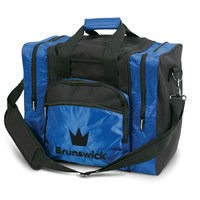 Brunswick Edge Single Tote Blue Bowling Bags