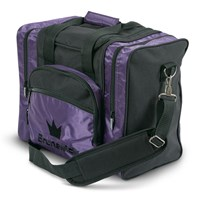Brunswick Edge Single Tote Purple Bowling Bags