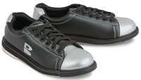 Brunswick TZone Unisex Black/Silver Bowling Shoes