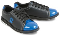 Brunswick TZone Unisex Black/Royal Bowling Shoes