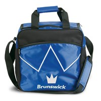 Brunswick Blitz Single Tote Blue Bowling Bags