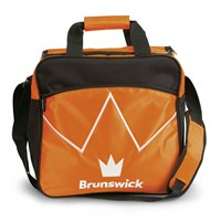 Brunswick Blitz Single Tote Orange Bowling Bags