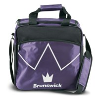 Brunswick Blitz Single Tote Purple Bowling Bags