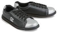 Brunswick TZone Youth Black/Silver Bowling Shoes