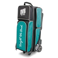 DV8 Circuit Triple Roller Teal Bowling Bags