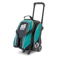 DV8 Circuit Double Roller Teal Bowling Bags