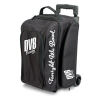 DV8 Freestyle Double Roller Black Bowling Bags