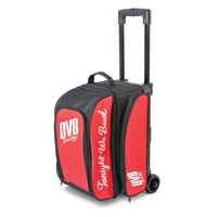 DV8 Freestyle Double Roller Red Bowling Bags