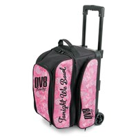 DV8 Freestyle Double Roller Pink Swirl Bowling Bags