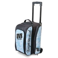 DV8 Freestyle Double Roller Blue Swirl Bowling Bags
