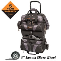 Hammer Premium 4 Ball Roller Black/Carbon Bowling Bags