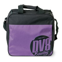 DV8 Freestyle Single Tote Purple Bowling Bags