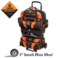 Hammer Premium 4 Ball Roller Black/Orange Bowling Bags