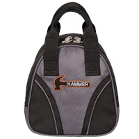 Hammer Plus One Carbon/Black Single Tote Bowling Bags