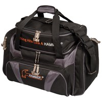 Hammer Deluxe Double Tote Black/Carbon Bowling Bags