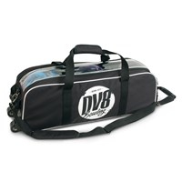DV8 Tactic Triple Tote No Pouch Black Bowling Bags