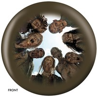 OnTheBallBowling The Walking Dead Zombie Circle Bowling Balls