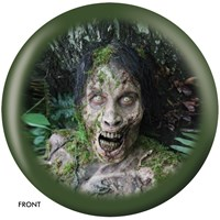 OnTheBallBowling The Walking Dead Zombie Portrait Bowling Balls