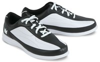 Brunswick Womens Bliss Black/White Wide Width Bowling Shoes