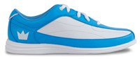 Brunswick Womens Bliss Blue/White Bowling Shoes