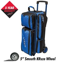 Columbia Icon 3 Ball Roller Royal Bowling Bags