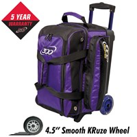 Columbia Icon Double Roller Purple Bowling Bags