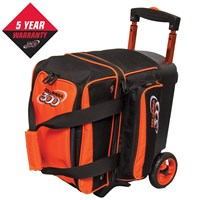 Columbia Icon Single Roller Orange Bowling Bags