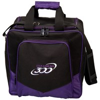 Columbia White Dot Single Tote Purple Bowling Bags