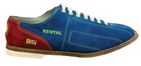 BSI Mens Suede Cosmic Rental shoe Bowling Shoes