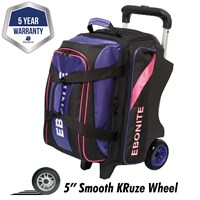 Ebonite Equinox Double Roller Purple/Pink Bowling Bags