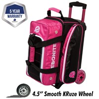 Ebonite Eclipse Double Roller Pink Bowling Bags